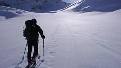 Podejscie na przełęcz Oberaarjoch (3012m)