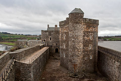 Blackness Castle near Linlithgow, West Lothian, Scotland....