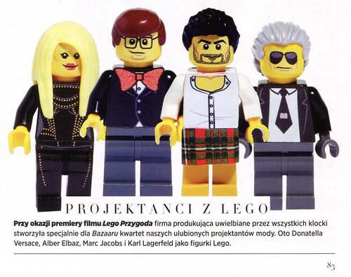 projektanci z LEGO Bazar 2014-04
