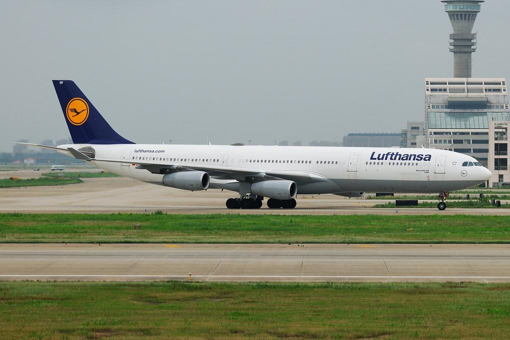 D-AIGY - A343 - Lufthansa