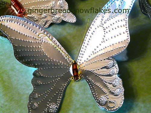 Yellow Crested Spangle Butterfly