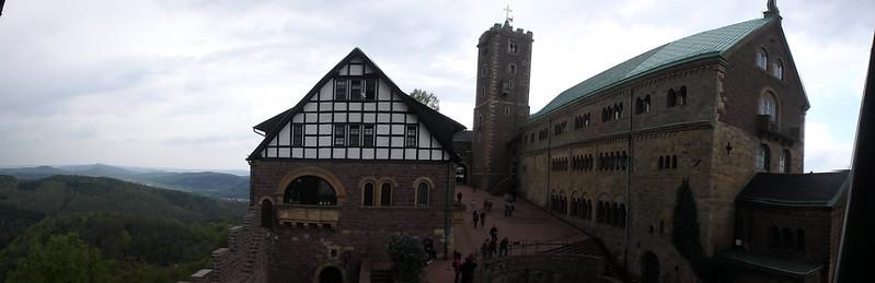 P4210011 Pano Castillo de Wartburg UNESCO Alemania