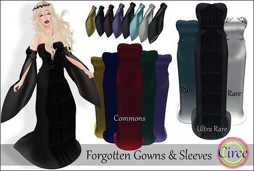 Circe - Mesh Forgotten Gown & Sleeves