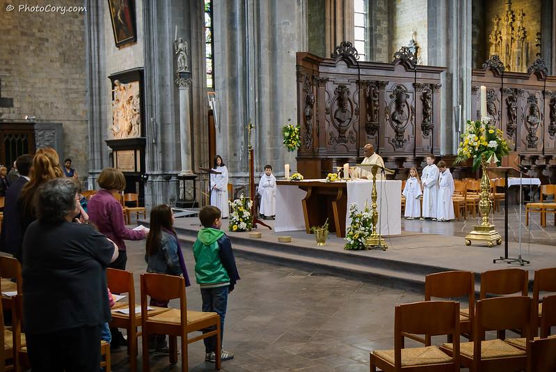 Sunday Ceremony Mons, Sainte Waudru