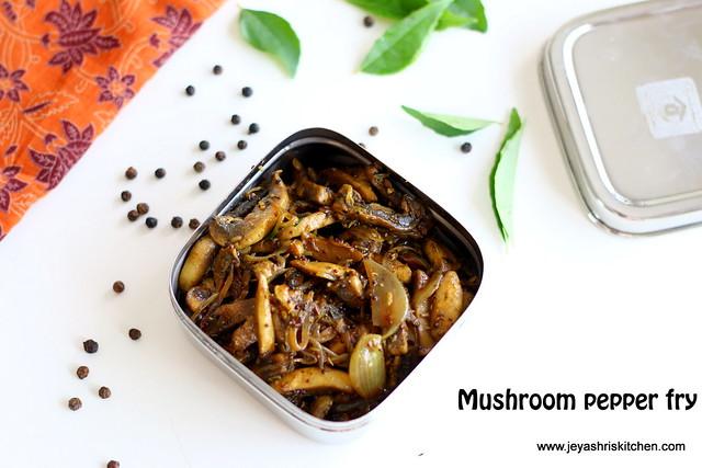 mushroom-pepper-fry