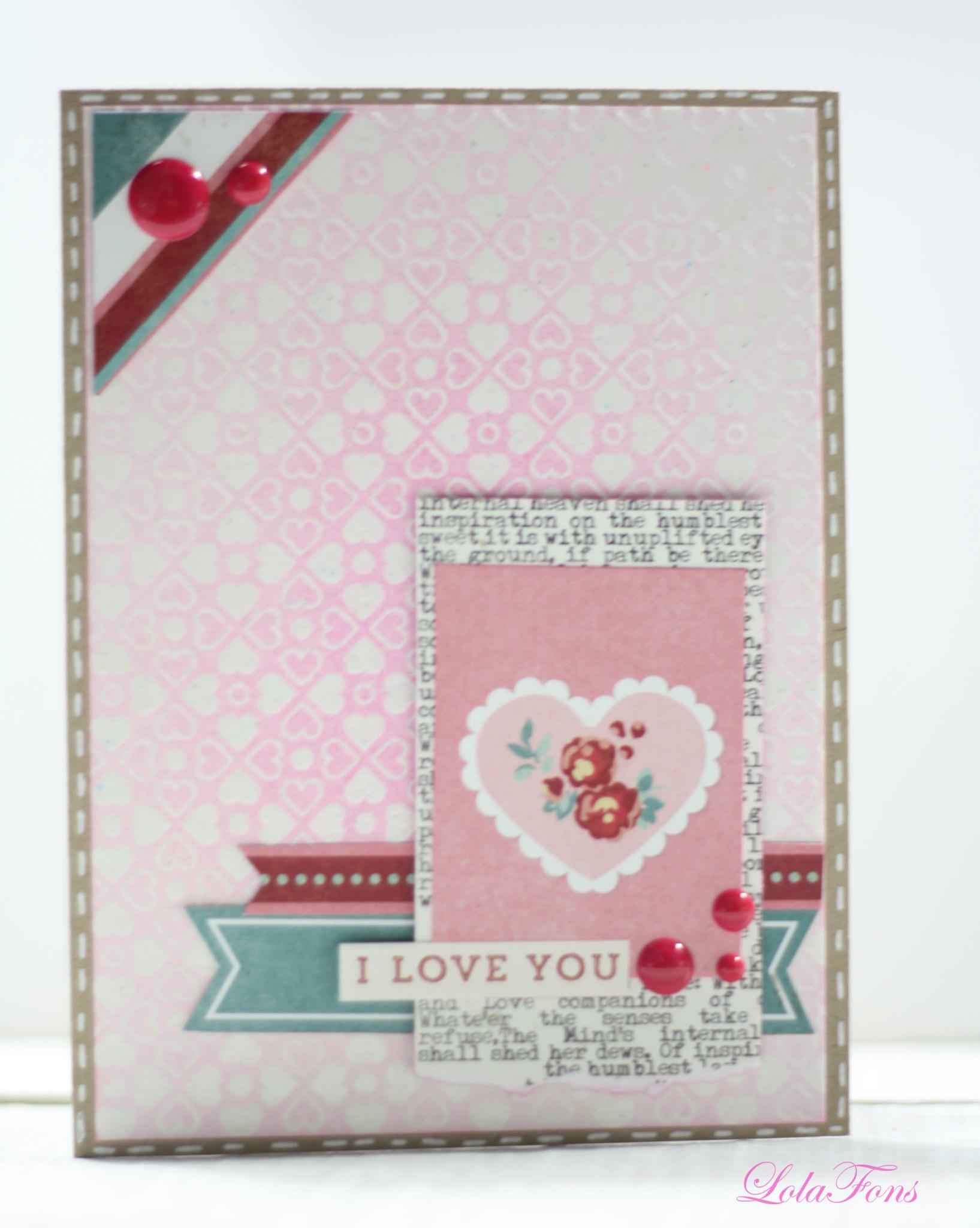 Tarjeta San Valentín 2