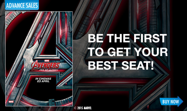 TGV Cinemas Jual Tiket AVENGERS 2 : AGE OF ULTON