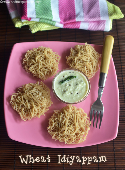 Wheat Idiyappam Recipe