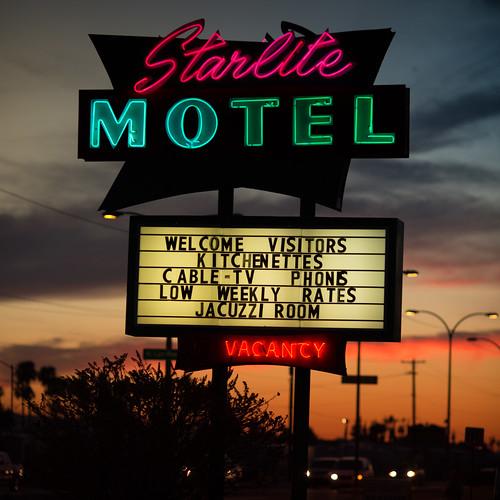 sunset arizona usa neon unitedstates fav50 unitedstatesofamerica motel mesa fav10 fav25 starlitemotel fav100