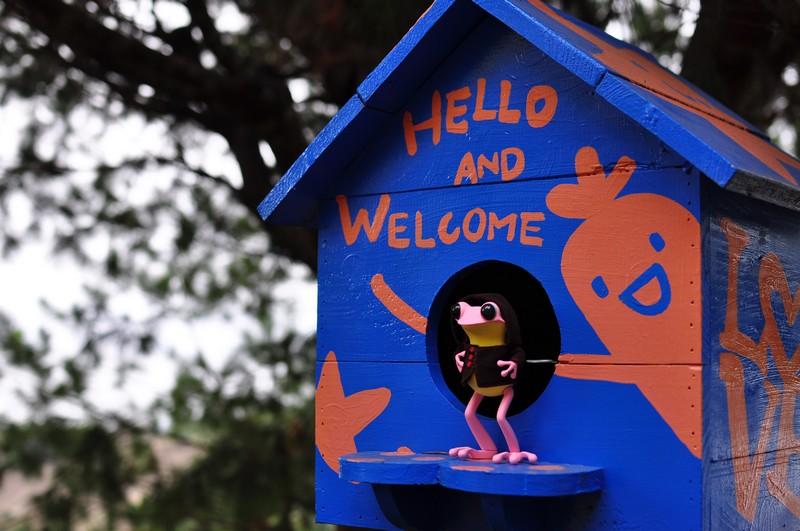 帶著娃娃去旅行--阿婆青蛙(apo frogs)豐原之旅
