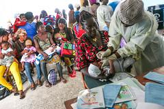 Vaccination campaign in Liberia