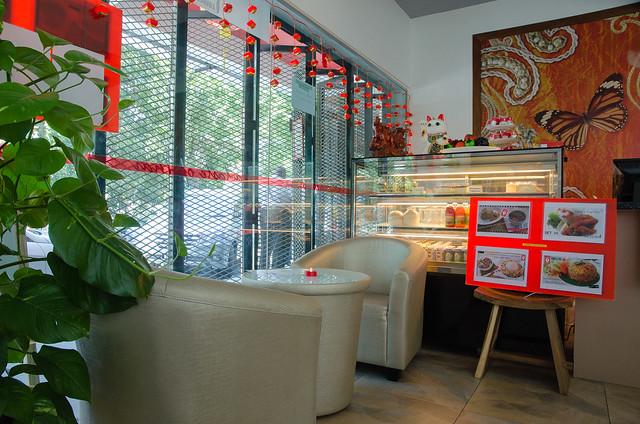 Interior of Café 9