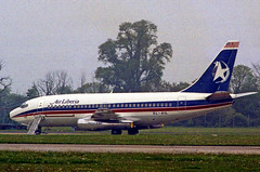 Air Liberia Boeing 737 EL-AIL Stansted airport hijack