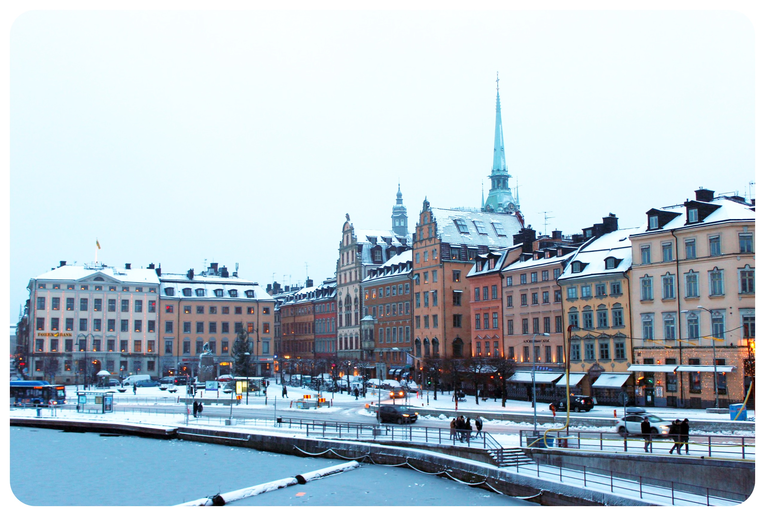 stockholm in the snow - photo #30