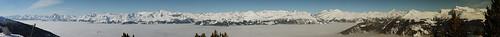 schnee winter panorama snow hiver neige vercorin crêtdumidi