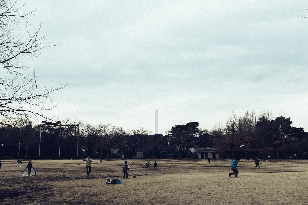 時間が止まった公園