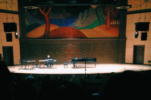 20150207: Dancing in place with Morton Subotnick