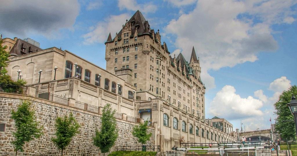Ottawa Ontario ~ Canada ~ Fairmont Château Laurier ~ Historic Hotel