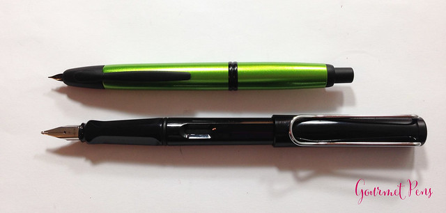 Review Pilot Vanishing Point Valley Green Fountain Pen @PilotPenUSA (5)