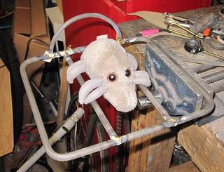 Dust Mite & fatbike rando rack