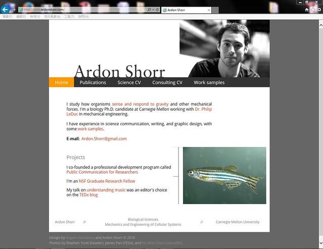 Zebrafish_Ardon Shorr_Carnegie Mellon University