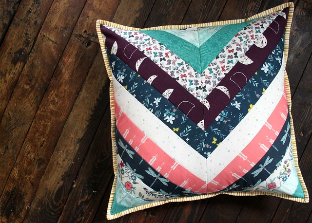 Herringbone Pillow in Moonset