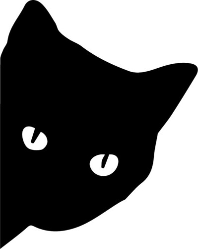 Blog posts may 2016 the craft chop for Black cat templates for halloween