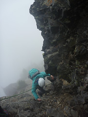 Topping out the last pitch