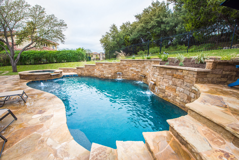 Natural Pools with Scuppers | Speaking of a more natural loo ...