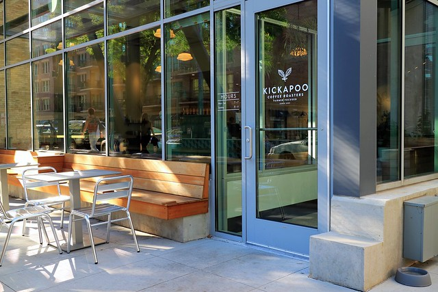 Kickapoo Coffee Roasters in Milwaukee's Third Ward