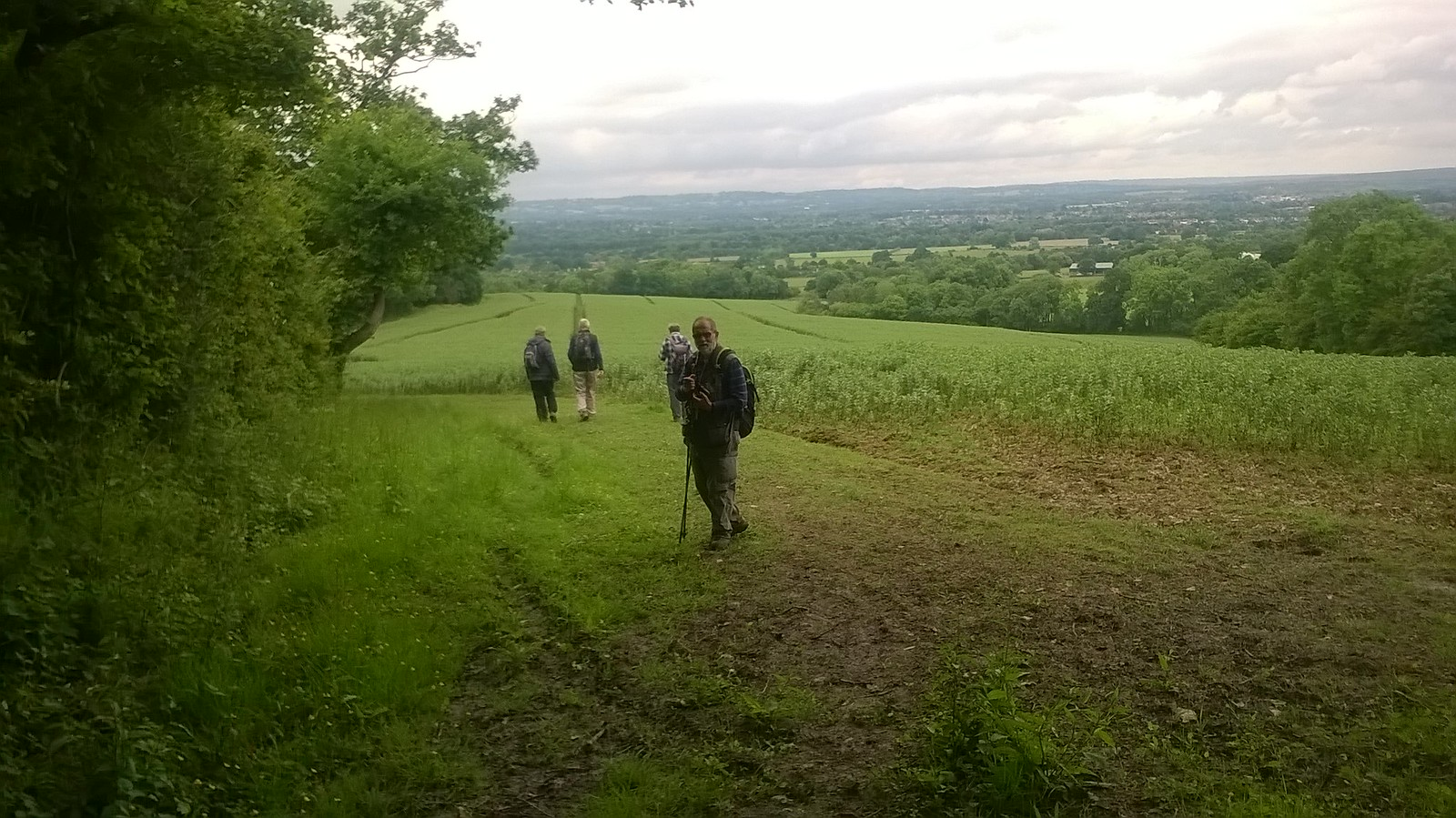 Descent Down to Hildenborough