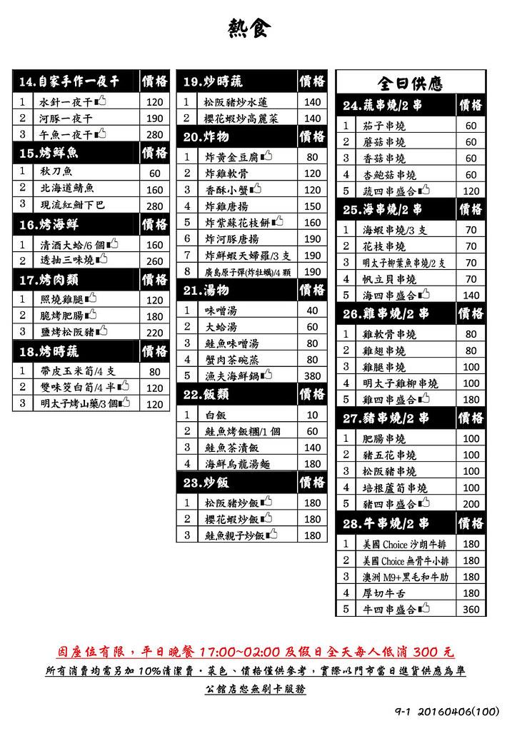 20160608萬華-狗一下居酒屋 (29)
