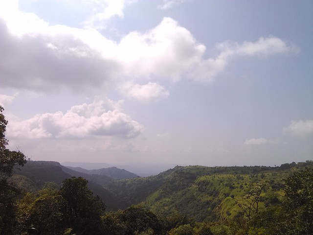 First view of Kudpan and Kokan valley enroute to Kudpan