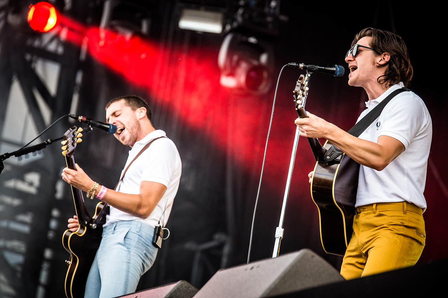 The Last Shadow Puppets @ Rock Werchter 2016 (Jan Van den Bulck)
