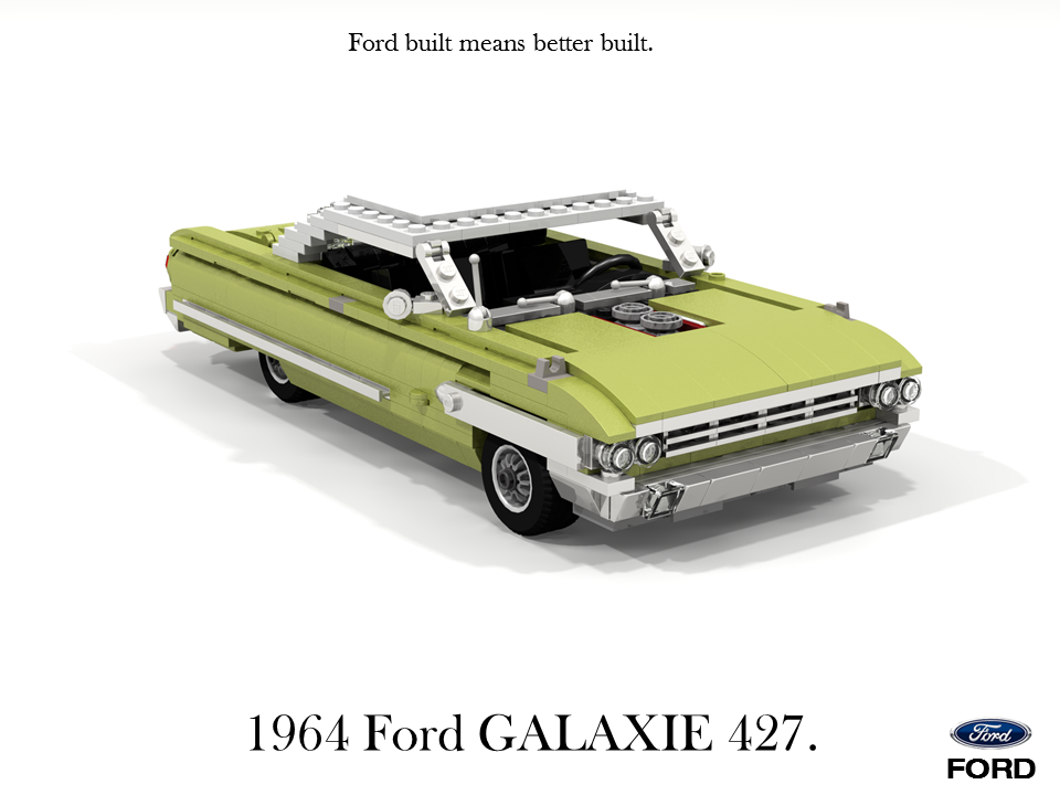 Ford 1964 Galaxie 427 CID V8 Sport Roof Coupe