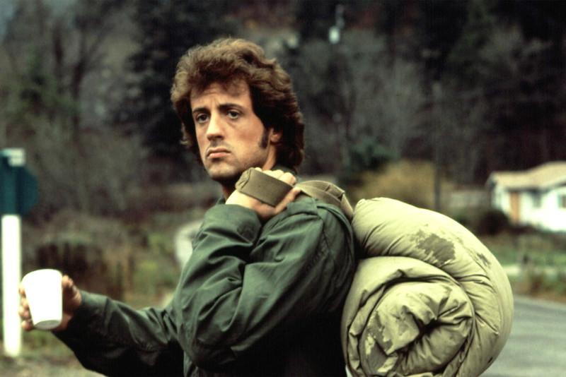 Сильвестр Сталлоне в роли Джона Рембо с 1982 года