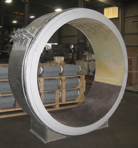 "72"" Dia. Cryogenic Pipe Supports Designed for an LNG Facility"