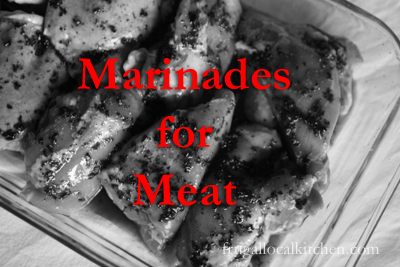 Marinades for Meat
