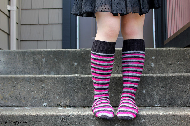 Domestic Badass Knee Socks 2