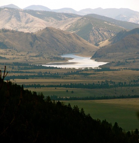 Upper Holter Lake. Montana