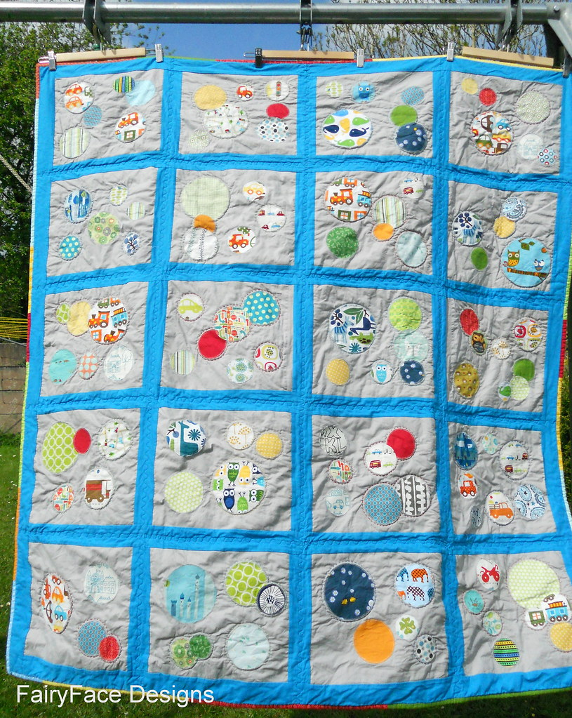 Darraghs quilt finished