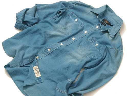 RRL / Washed Indigo Workshirt
