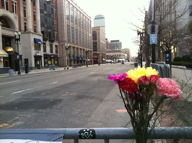 Single Bouquet at Boylston