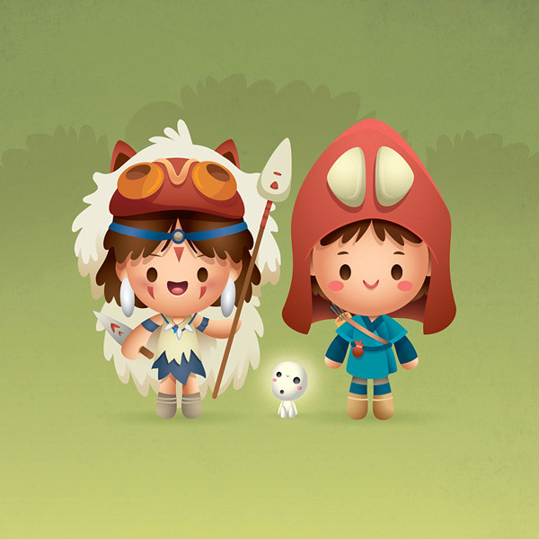 The Princess and The Warrior av Jerrod Maruyama