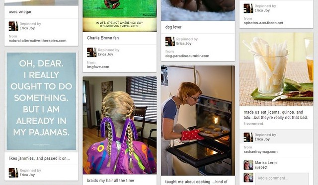 Mom's Pinterest Board