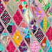 Fairytale Forest quilt close up by IssabellaTheCat