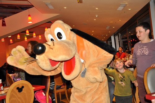 Pluto en acción