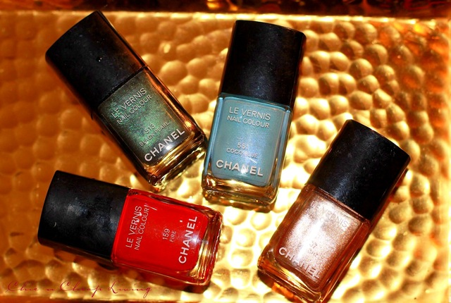 Chanel nail polish fronts by Chic n Cheap Living