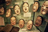 Noh Masks at Pitt Rivers Museum