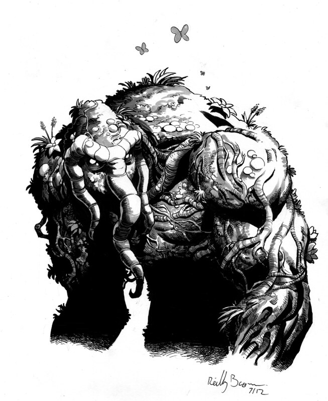 Man-Thing by Reilly Brown 2012